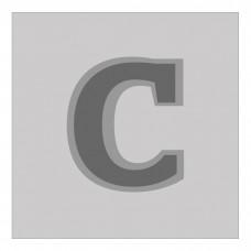 Letter C - Bas-Relief