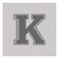 Letter K - Bas-Relief