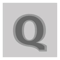 Letter Q - Bas-Relief