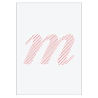 Letter M - Embroidered