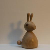 Wooden Bunny - Oak